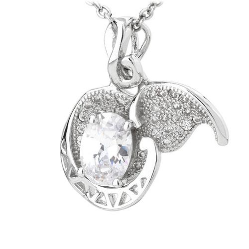 pendentif femme argent zirconium 8300782 pic2