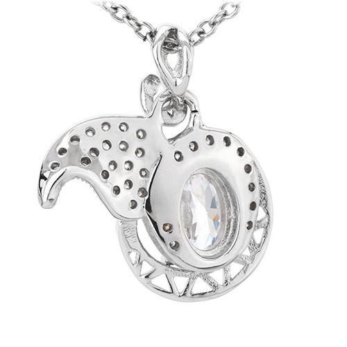 pendentif femme argent zirconium 8300782 pic3