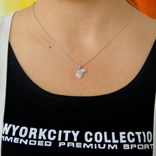 pendentif femme argent zirconium 8300782 pic4