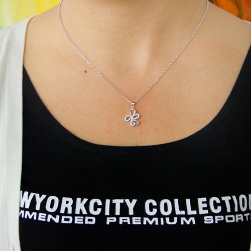 pendentif femme argent zirconium 8300784 pic4