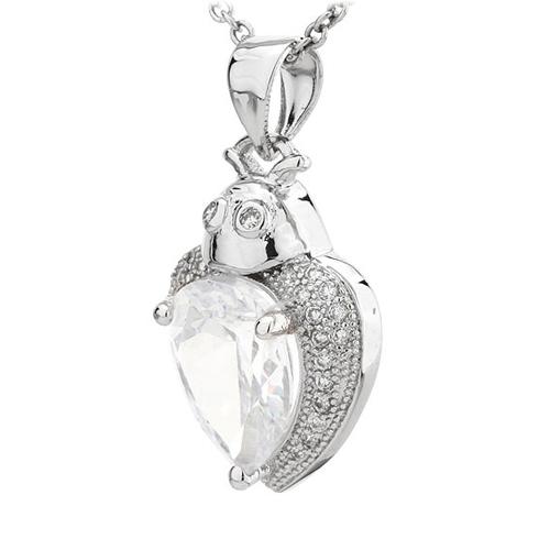 pendentif femme argent zirconium 8300785 pic2