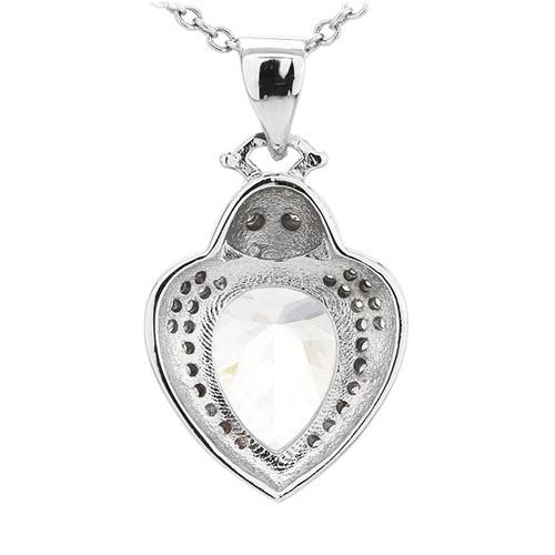 pendentif femme argent zirconium 8300785 pic3