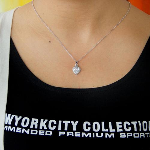 pendentif femme argent zirconium 8300785 pic4