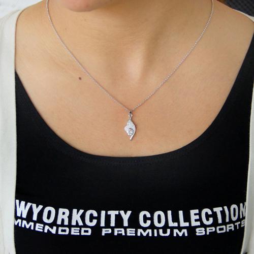 pendentif femme argent zirconium 8300789 pic4