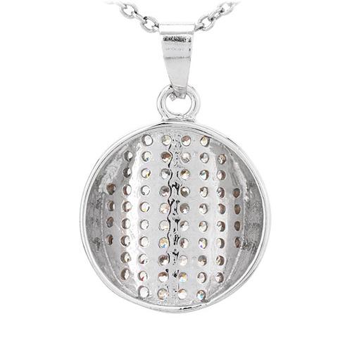 pendentif femme argent zirconium 8300793 pic3
