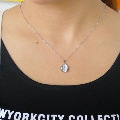 pendentif femme argent zirconium 8300793 pic4