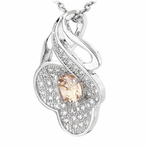 pendentif femme argent zirconium 8300794 pic2