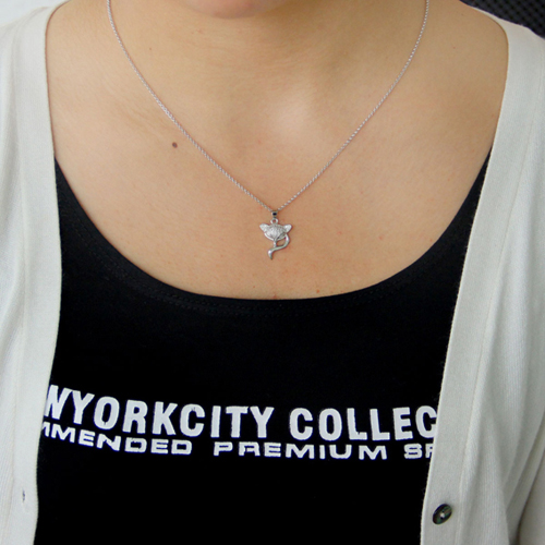 pendentif femme argent zirconium 8300802 pic4