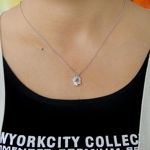 pendentif femme argent zirconium 8300803 pic4