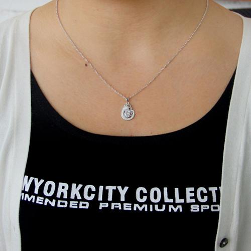 pendentif femme argent zirconium 8300804 pic4