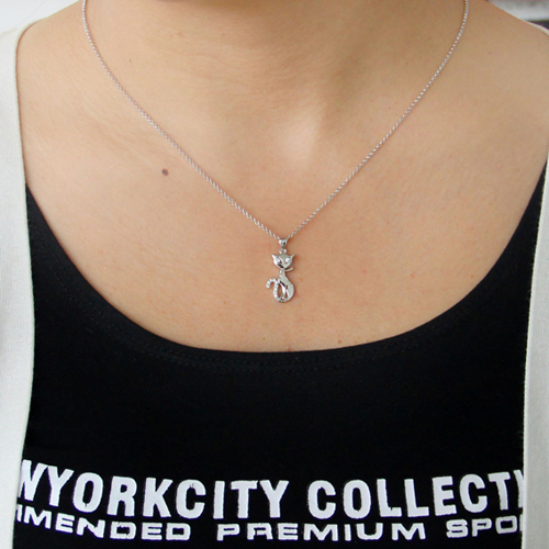 pendentif femme argent zirconium 8300805 pic4