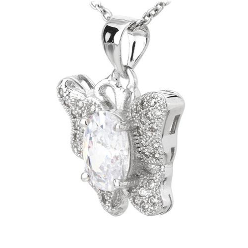 pendentif femme argent zirconium 8300808 pic2