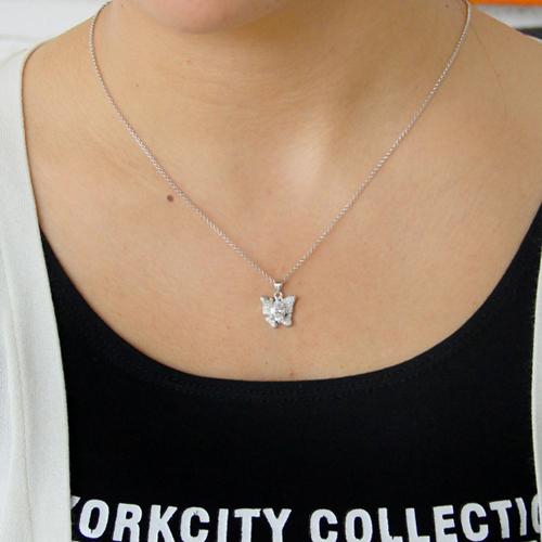 pendentif femme argent zirconium 8300808 pic4