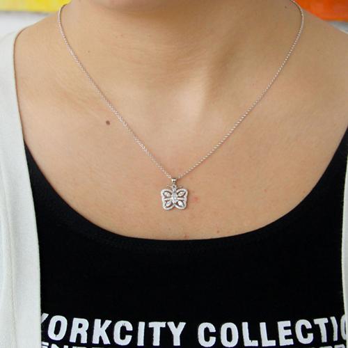 pendentif femme argent zirconium 8300809 pic4