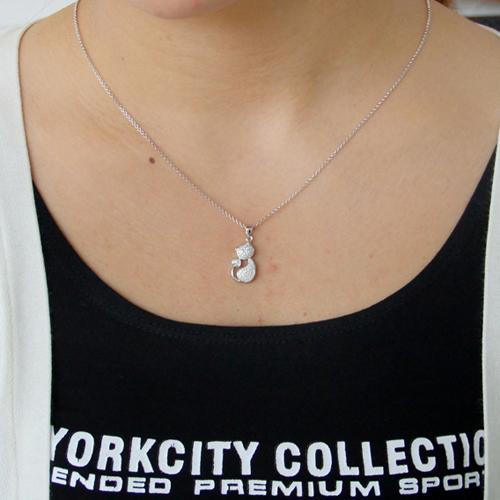 pendentif femme argent zirconium 8300811 pic4