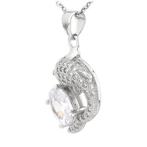 pendentif femme argent zirconium 8300813 pic2