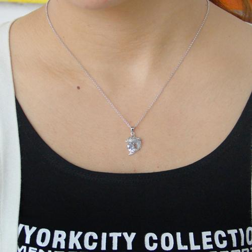 pendentif femme argent zirconium 8300813 pic4