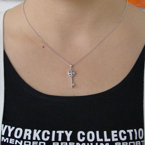 pendentif femme argent zirconium 8300816 pic4