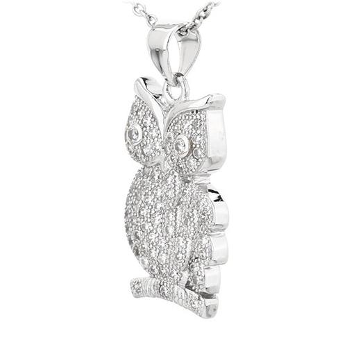 pendentif femme argent zirconium 8300820 pic2