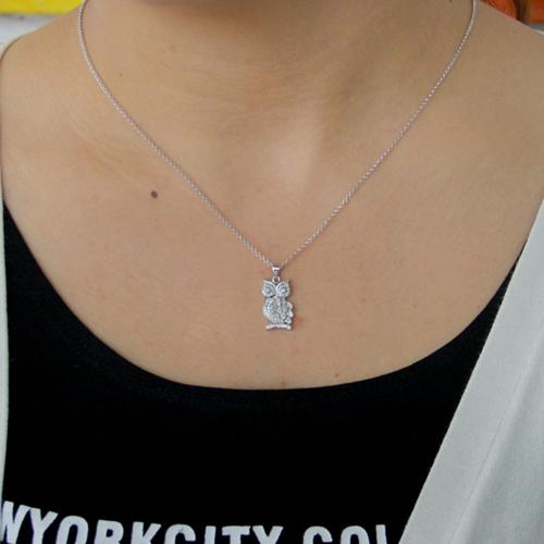 pendentif femme argent zirconium 8300820 pic4