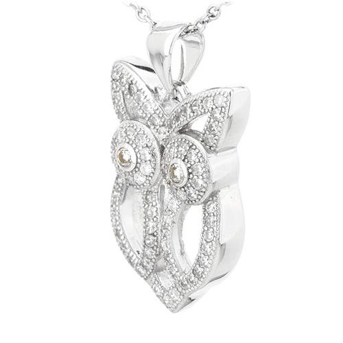 pendentif femme argent zirconium 8300821 pic2