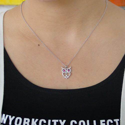 pendentif femme argent zirconium 8300822 pic4