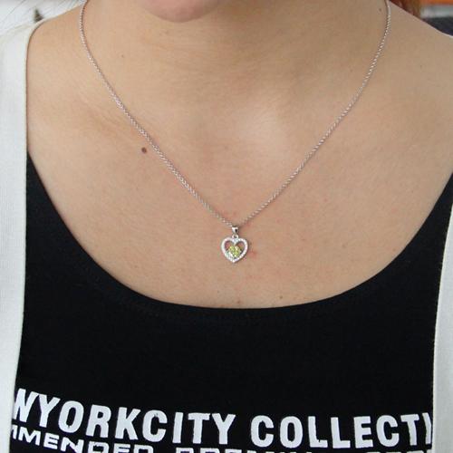 pendentif femme argent zirconium 8300825 pic4