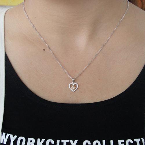 pendentif femme argent zirconium 8300826 pic4