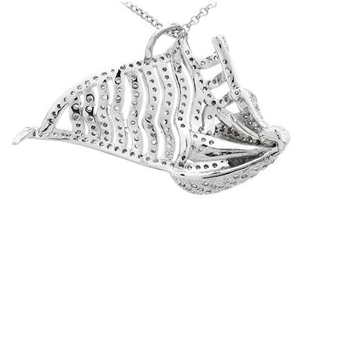 pendentif femme argent zirconium 8300830 pic3
