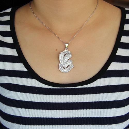 pendentif femme argent zirconium 8300909 pic4
