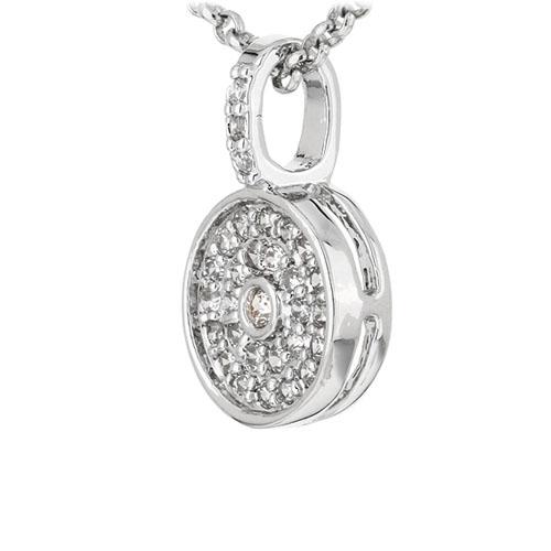 pendentif femme argent zirconium 8300911 pic2