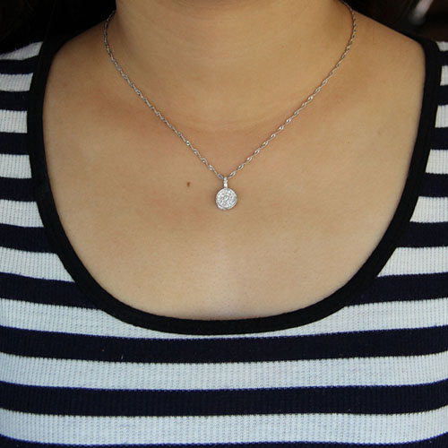 pendentif femme argent zirconium 8300911 pic4