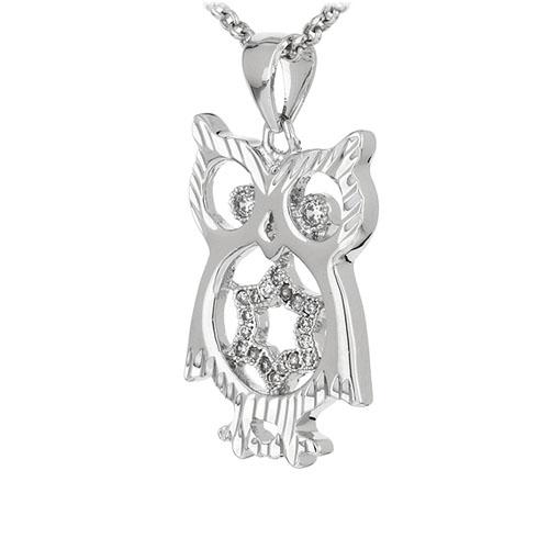 pendentif femme argent zirconium 8300914 pic2