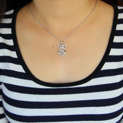 pendentif femme argent zirconium 8300914 pic4