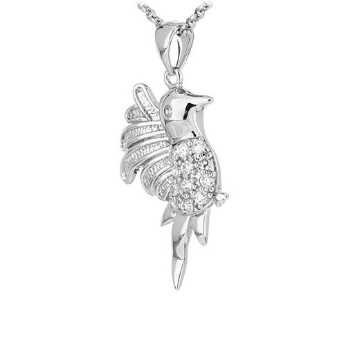 pendentif femme argent zirconium 8300915 pic2