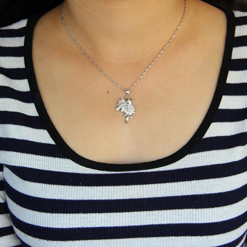pendentif femme argent zirconium 8300915 pic4