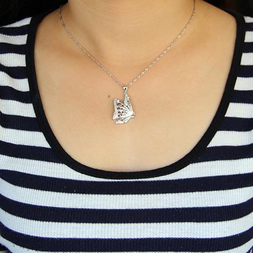 pendentif femme argent zirconium 8300918 pic4