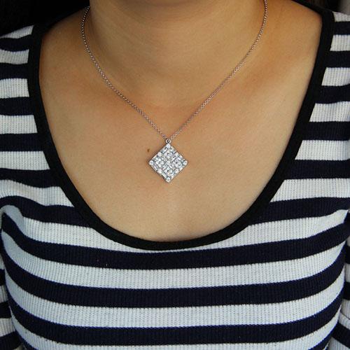 pendentif femme argent zirconium 8300921 pic4