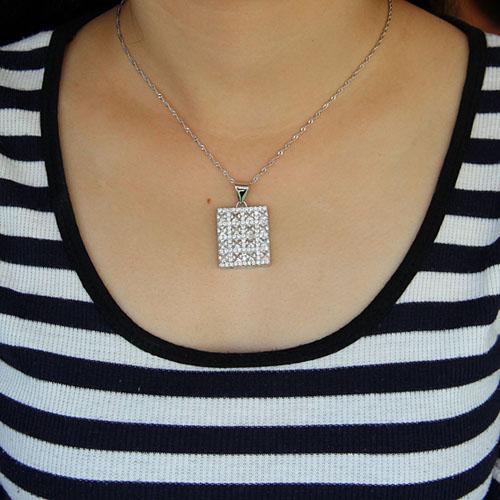 pendentif femme argent zirconium 8300924 pic4