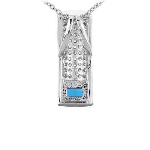 pendentif femme argent zirconium 8300930 pic3