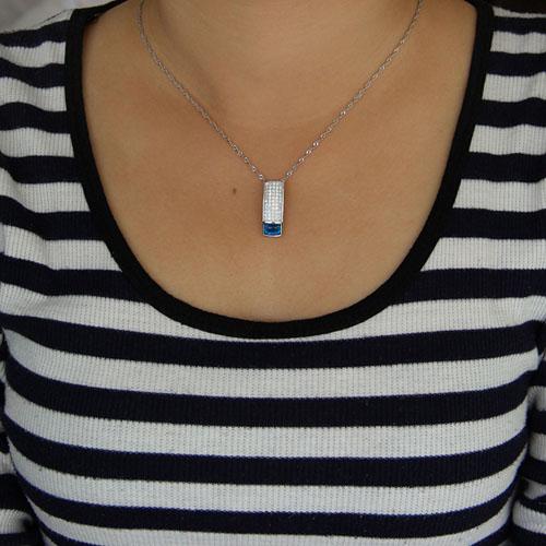 pendentif femme argent zirconium 8300930 pic4