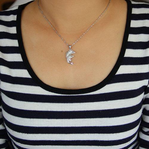 pendentif femme argent zirconium 8300934 pic4