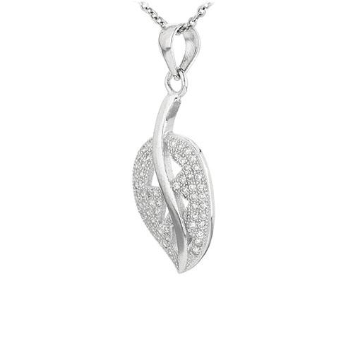 pendentif femme argent zirconium 8300938 pic2
