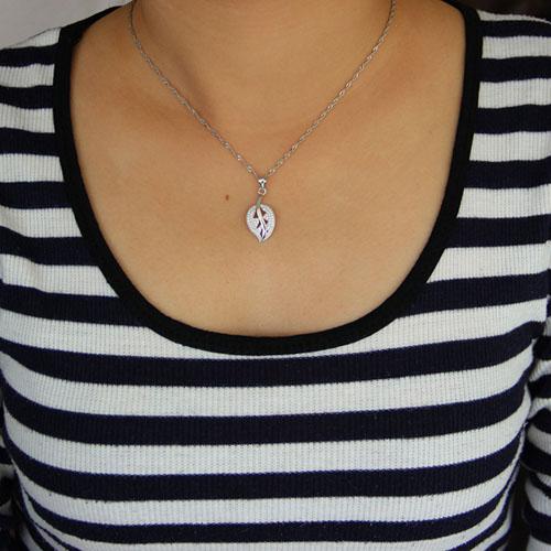 pendentif femme argent zirconium 8300938 pic4