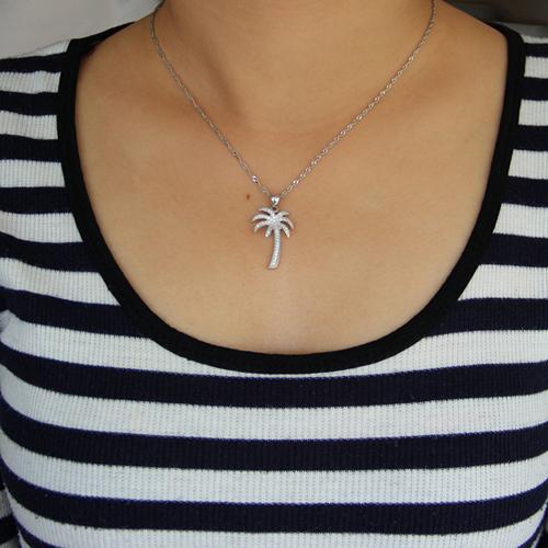 pendentif femme argent zirconium 8300940 pic4