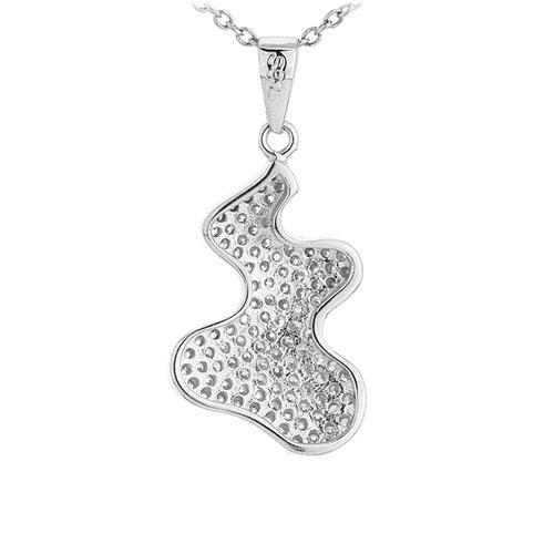 pendentif femme argent zirconium 8300943 pic3