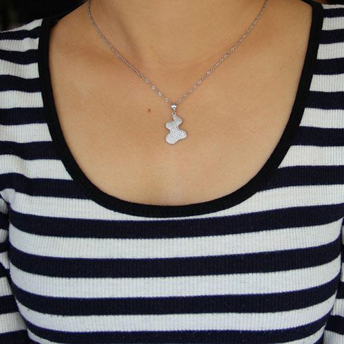 pendentif femme argent zirconium 8300943 pic4