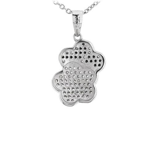 pendentif femme argent zirconium 8300945 pic3