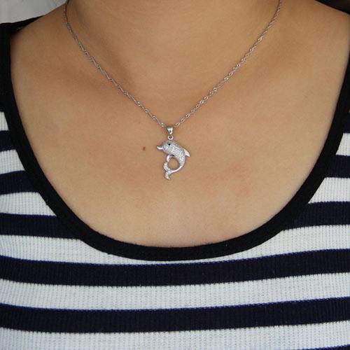 pendentif femme argent zirconium 8300952 pic4