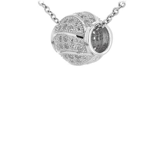 pendentif femme argent zirconium 8300953 pic2